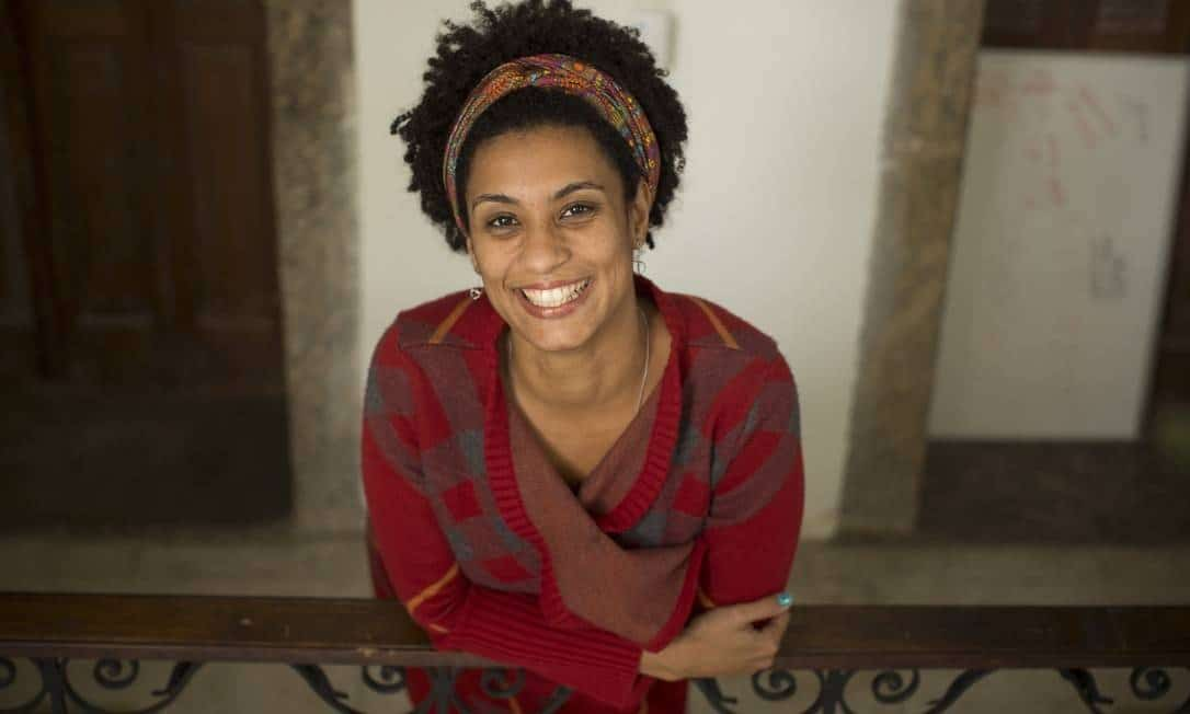 Marielle Franco, vereadora eleita pelo Psol, foi a quinta mais votada do Rio Foto: Márcia Foletto / Agência O Globo