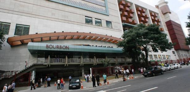 30.abr.2014 - Fachada do Bourbon Shopping, na Pompeia, zona oeste de São Paulo Imagem: Luiz Carlos Murauskas/Folhapress - 27.mar.2008