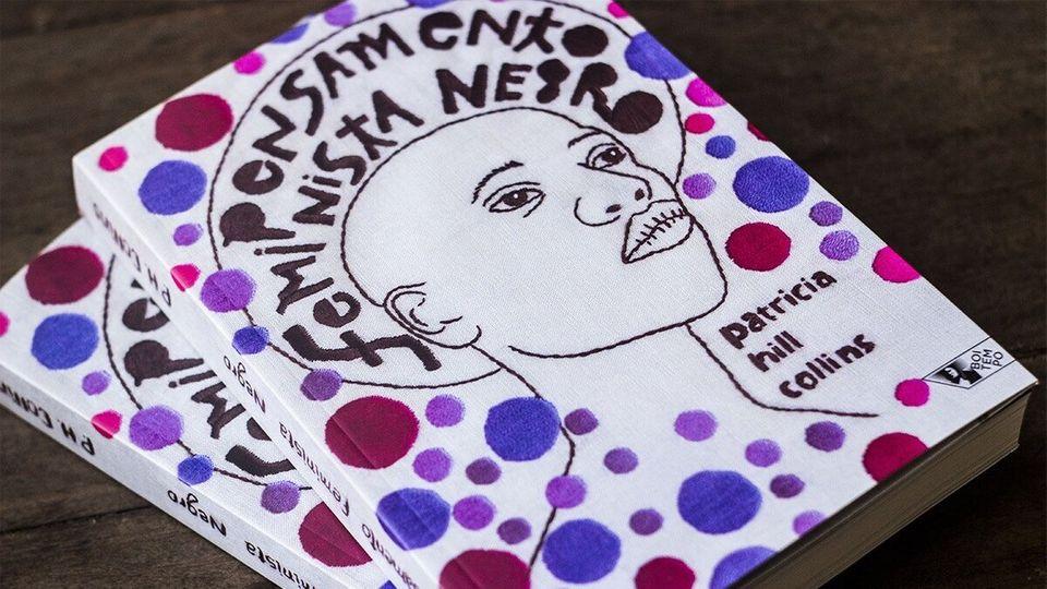 """Capa do livro """"Pensamentos feminista negro"""""""
