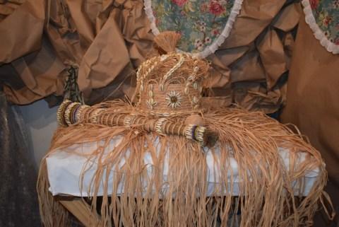 Imagem contendo itens sagrados em religião de matriz africana