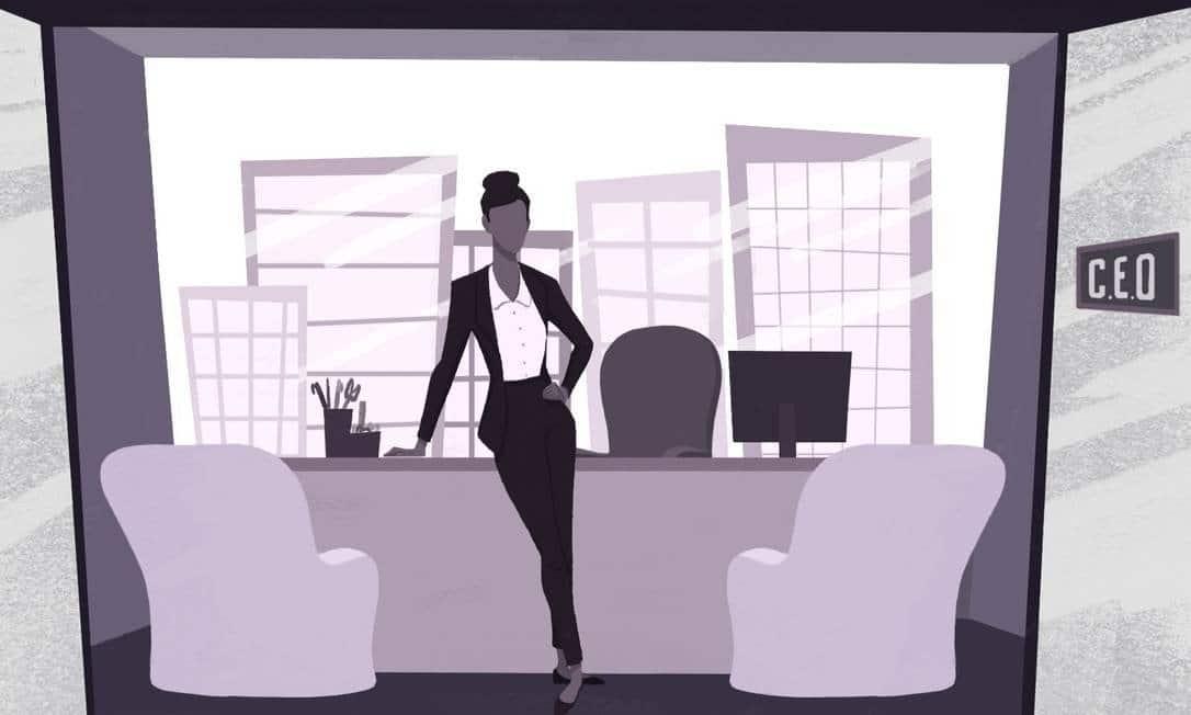 Mulheres enfrentam mais barreiras para chegar ao topo das empresas Foto: Arte de Nina Millen