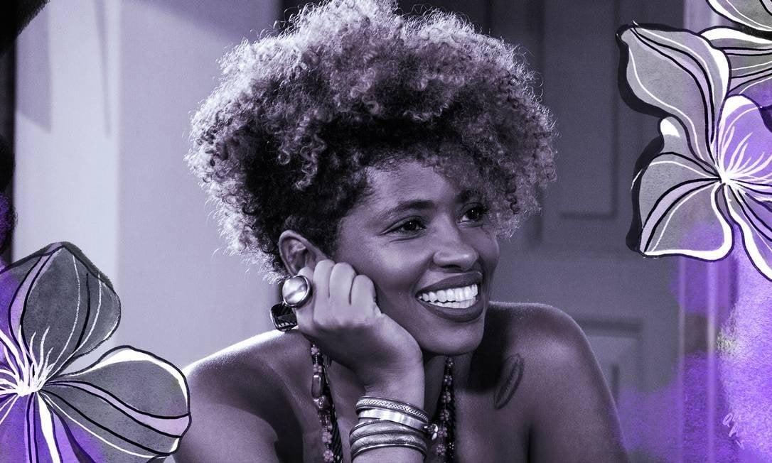 Giovana Xavier, historiadora e professora da Faculdade de Educação da UFRJ Foto: Arte de Ana Luiza Costa sobre foto de arquivo