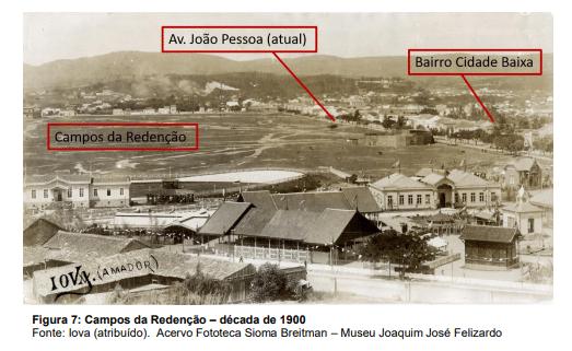 Campos de redenção- década de 1900