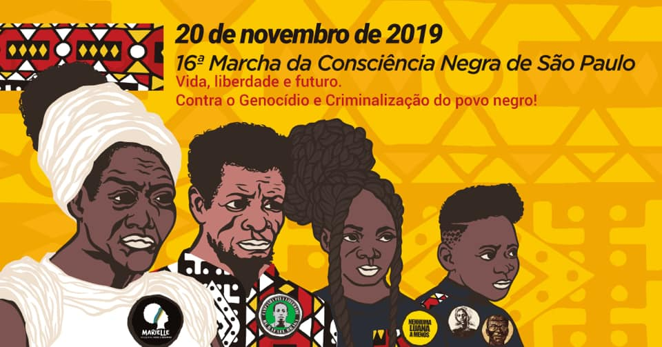 16 ª Marcha da Consciência Negra de São Paulo