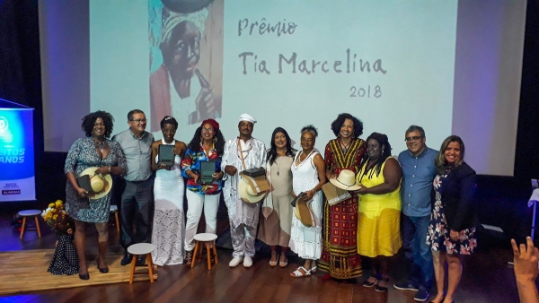 Homenageados da solenidade do Tia Marcelina 2018