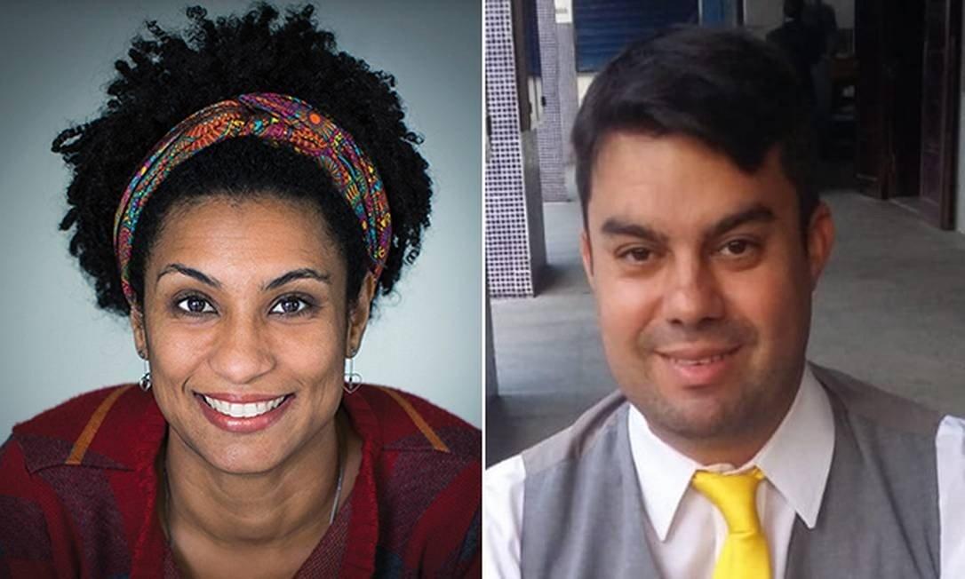 Vereadora Marielle Franco e motorista Anderson Gomes foram mortos em 14 (Foto: Agência O Globo)