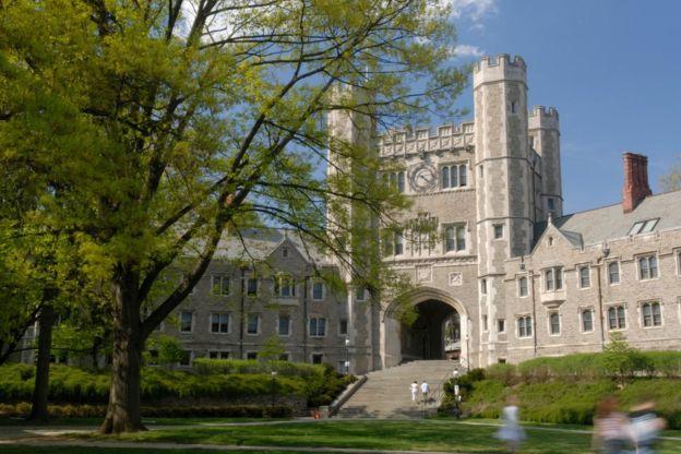Foto da universidade de Princeton