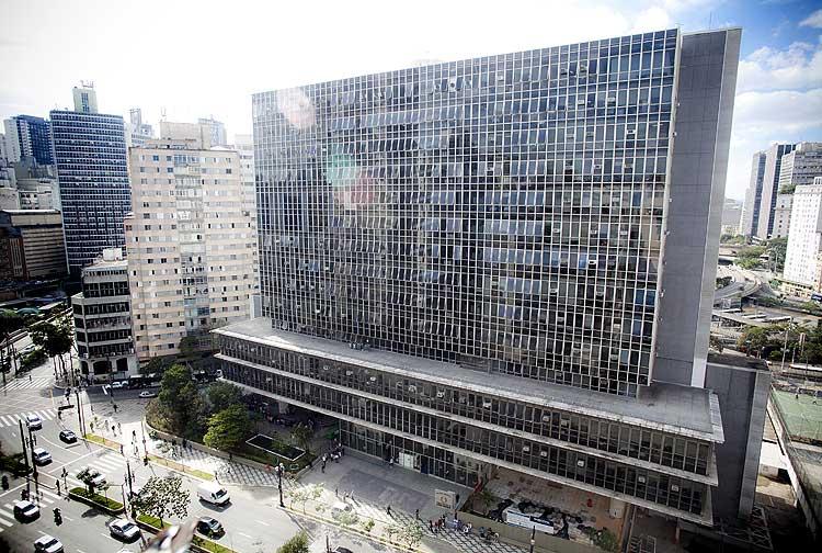Prédio da Câmara Municipal, no centro de São Paulo (Foto: Lucas Lima/Folhapress)