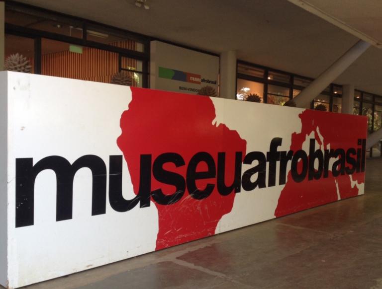 Logo do museu Afro Brasil