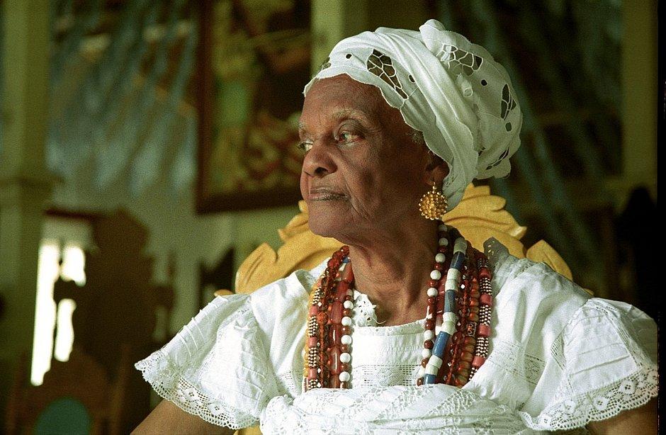 Mãe Tatá de Oxum, ialorixá do Terreiro Casa Branca (Dadá Jaques/Divulgação)