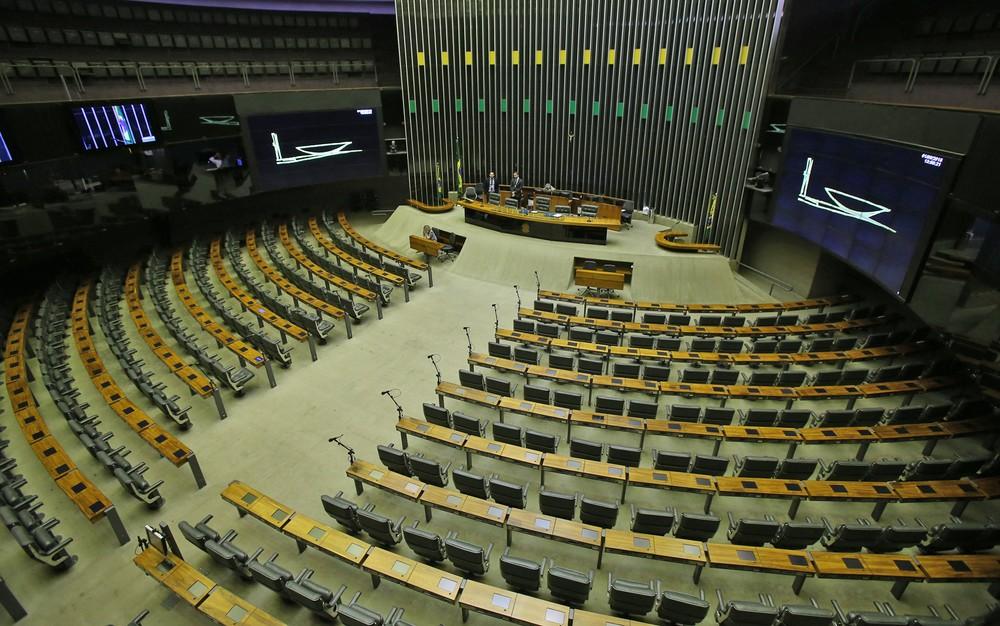 O plenário da Câmara dos Deputados, em Brasília — Foto: Dida Sampaio/Estadão Conteúdo