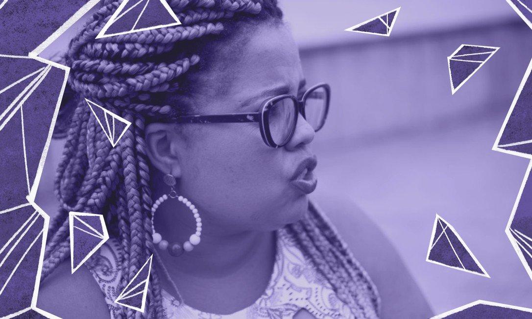 A pedagoga Fabbi Silva criou dois projetos: o 'Apadrinhe um Sorriso' e a 'Roda de mulheres: Apadrinhe um Sorriso' Foto: Arquivo Pessoal/Arte