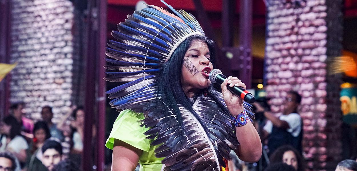 Sônia Guajajara (Foto: Pablo Albarenga / Mídia NINJA)