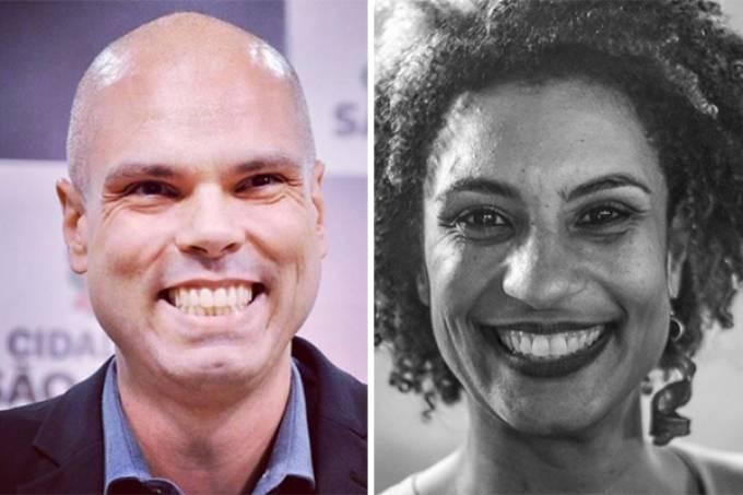 Bruno Covas sancionou nesta terça (28) homenagem para vereadora Marielle Franco (Reprodução Instagram/Divulgação)