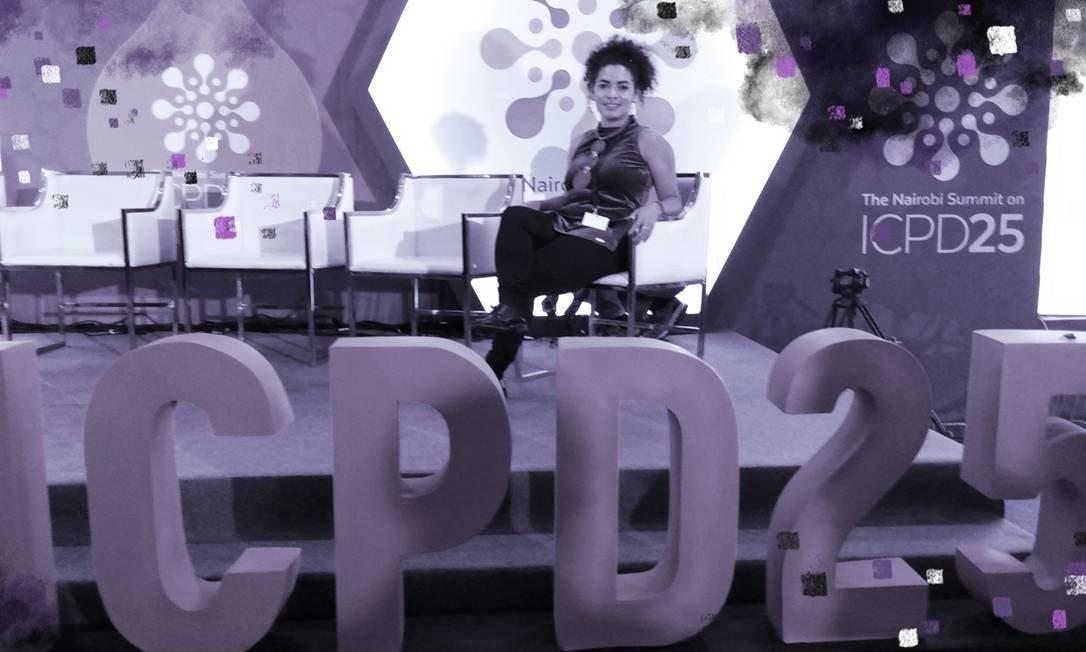 Pesquisadora Jackeline Romio avalia como positiva participação da delegação brasileira em cúpula no Quênia Foto: Divulgação/