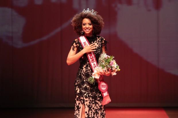 Karen Porfiro, a Miss Ibirapuera, vence concurso em SP (Foto: Rafael Cusato/EGO)