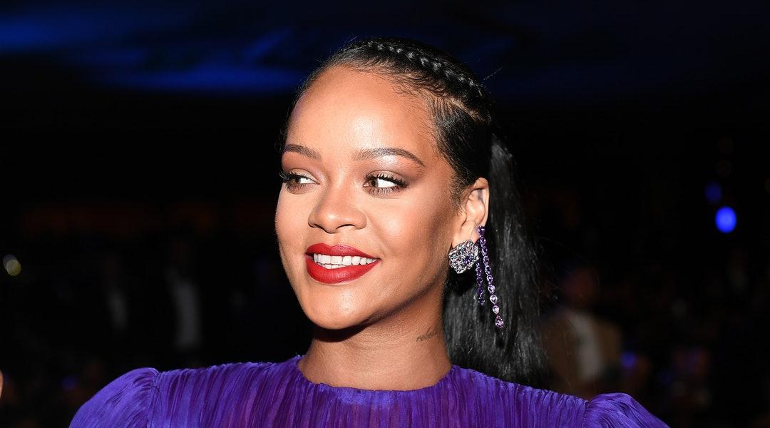 Rihanna durante premiação
