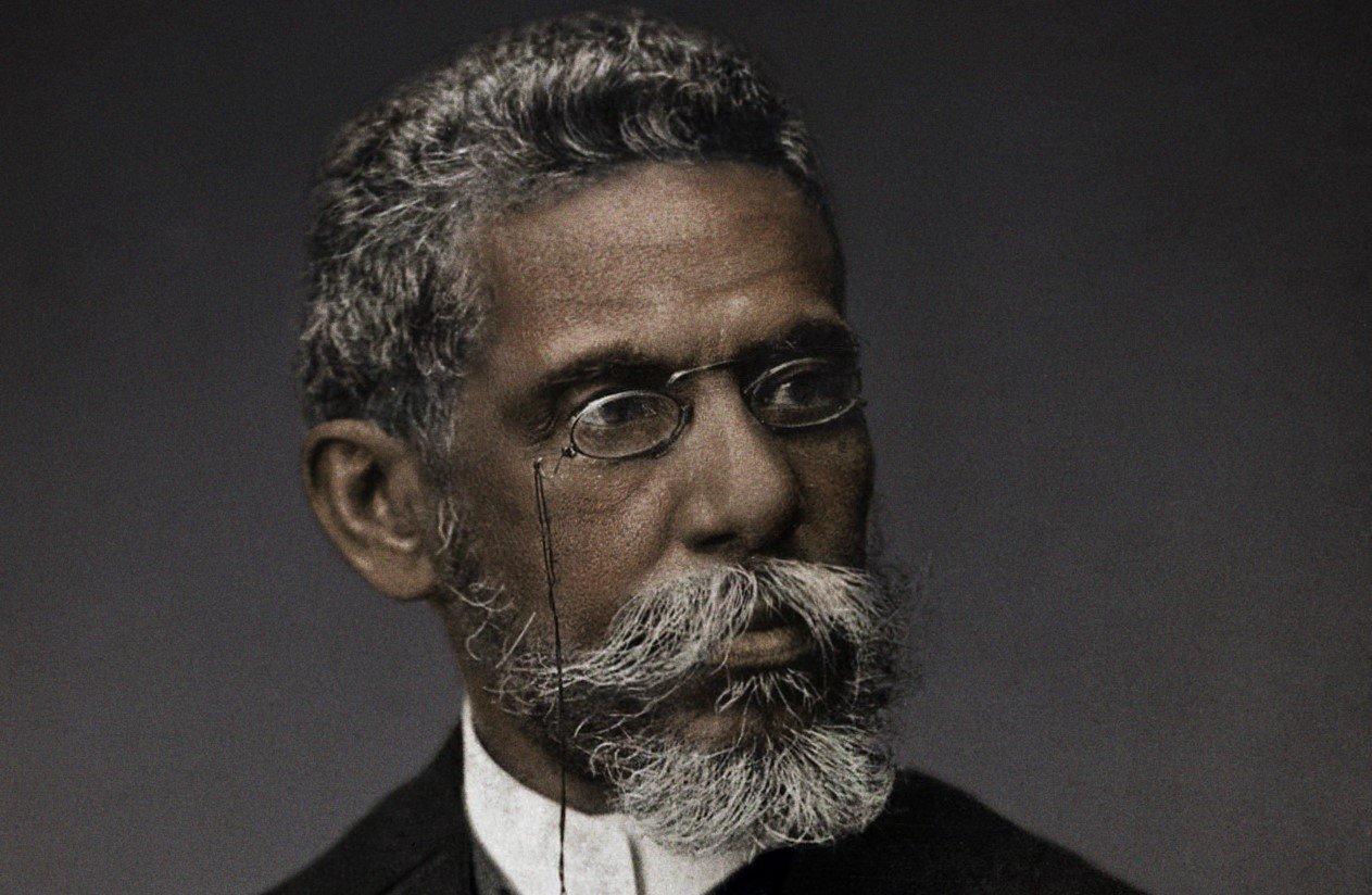 Machado de Assis (Imagem: Campanha #MachadodeAssisReal/Faculdade Zumbis dos Palmares)