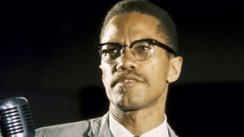 Retrato colorido de Malcolm X (Foto: Getty Images)