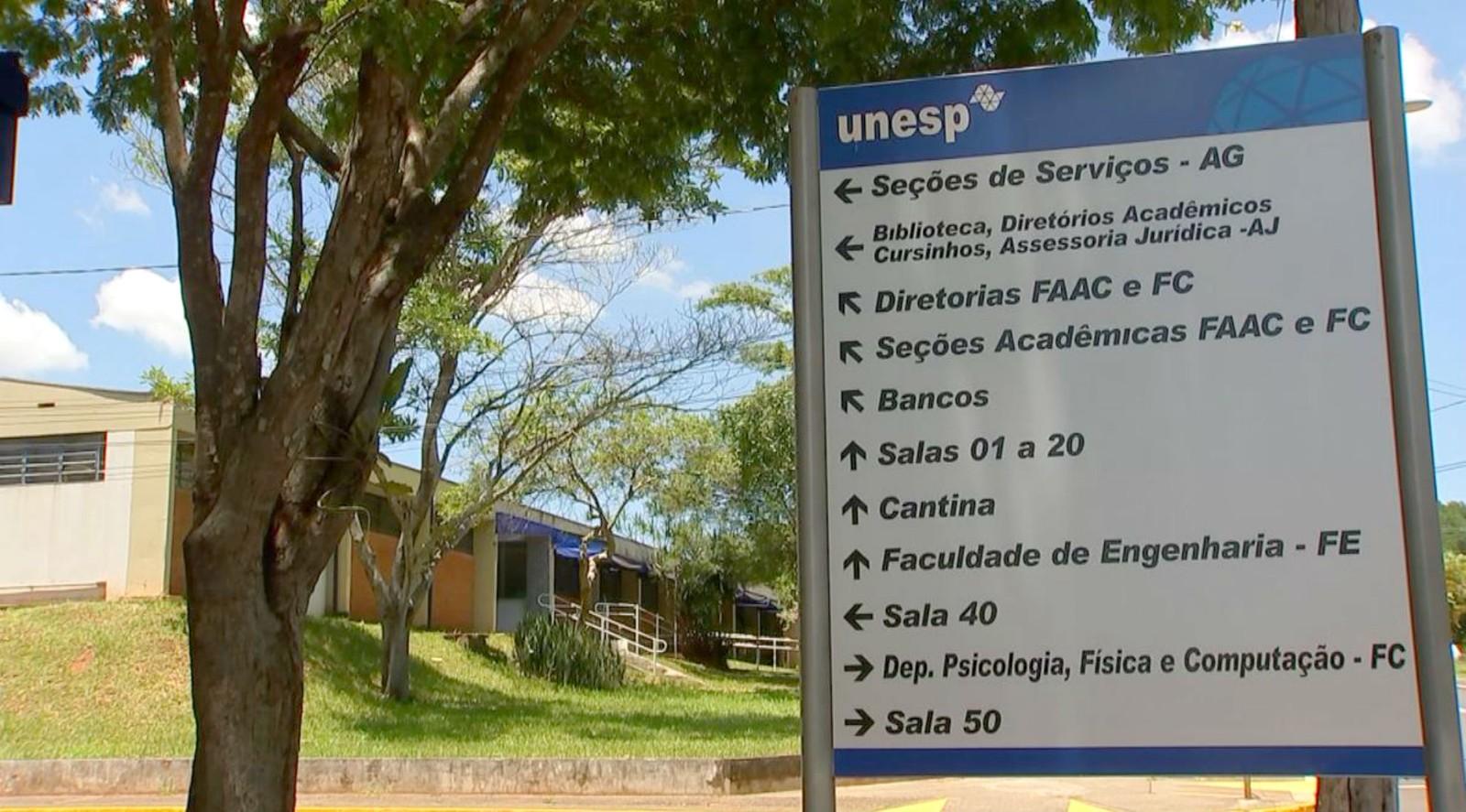 Unesp faz novo desligamento de alunos cotistas após apurações de comissão interna — Foto: TV TEM/Reprodução