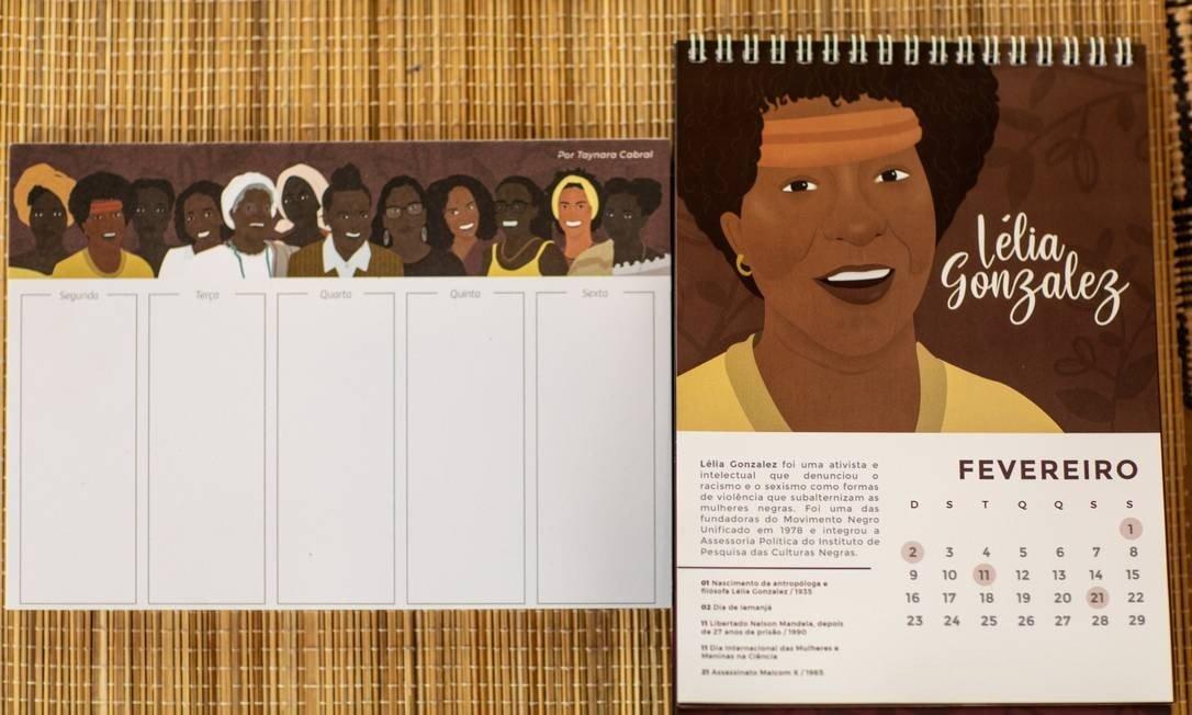 As criações da publicitária Taynara Cabral. Foto: BRENNO CARVALHO / Agência O Globo