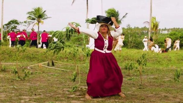 Dayse Alves interpreta Maria Camarão, protagonista da história de Tejucupapo