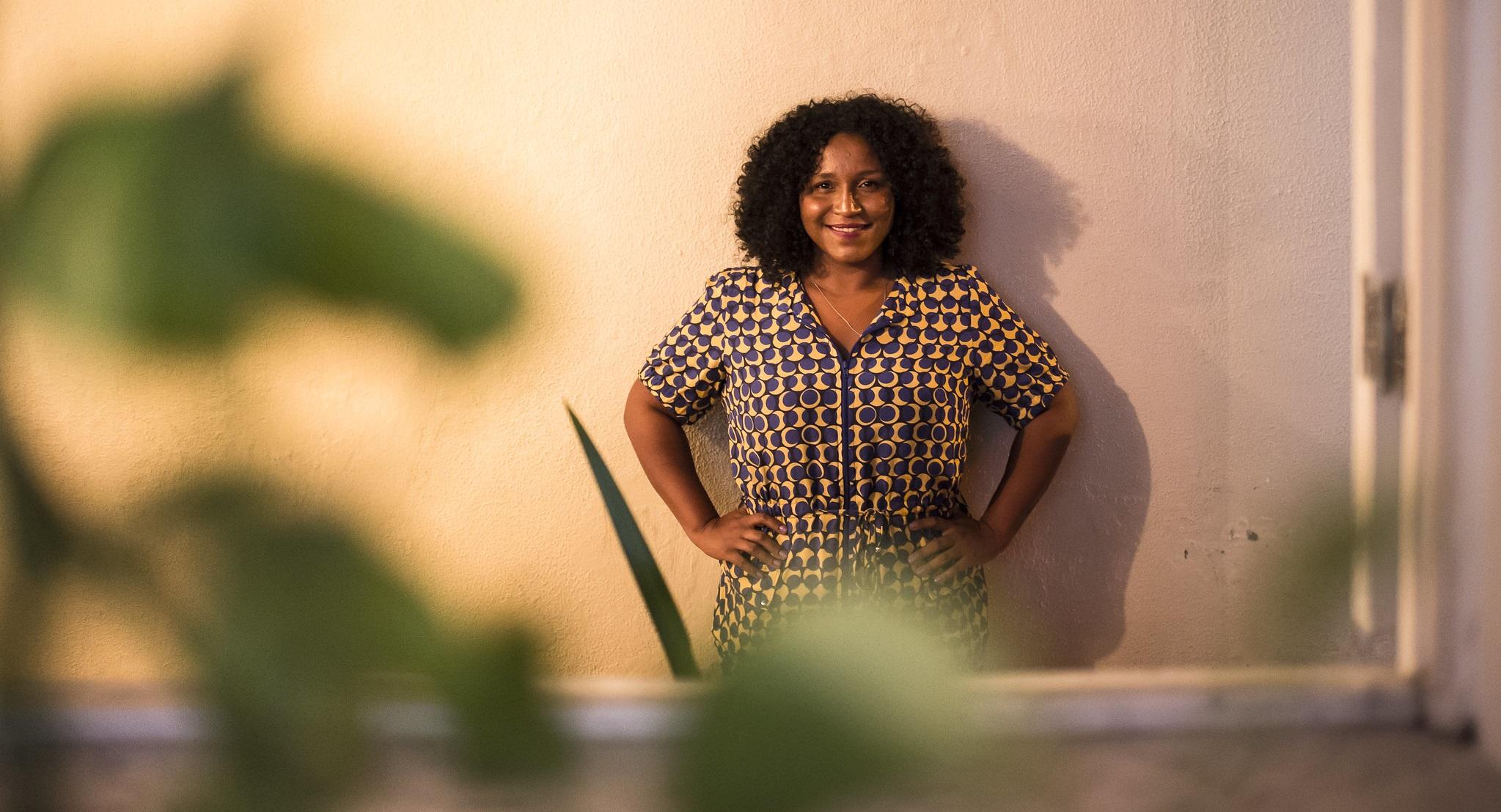 Silvana Bahia lembra da importância de celebrarmos as mulheres incríveis que estão ao nosso lado (foto: Olabi/Valda Nogueira).