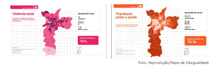 Racismo é maior em regiões de São Paulo com menos pretos e pardos