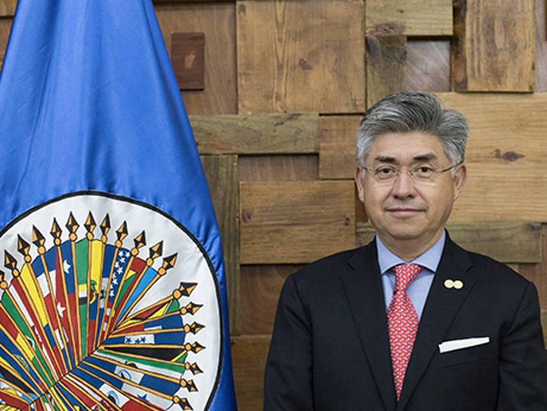O presidente da Comissão Interamericana de Direitos Humanos da OEA, Joel Hernández García.JUAN MANUEL HERRERA / OAS