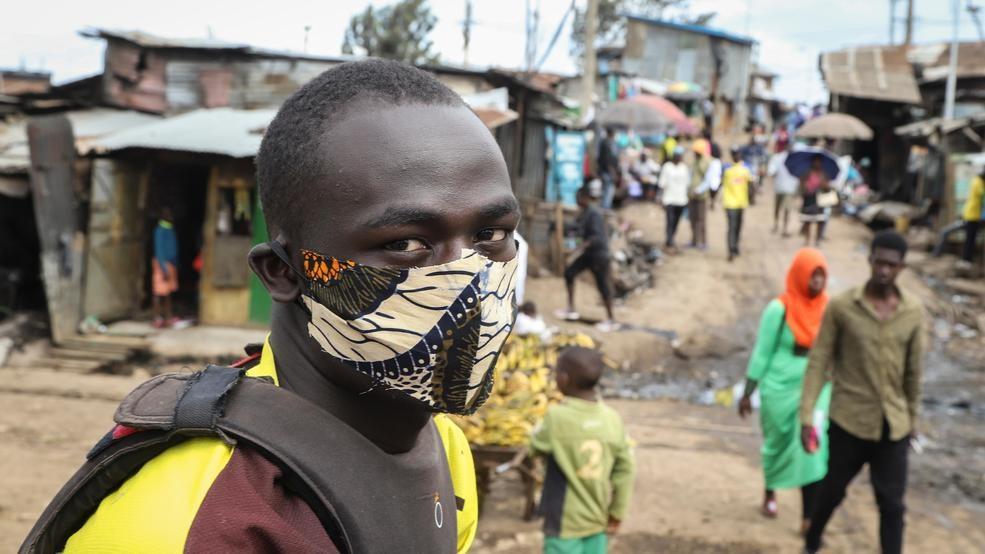 O continente africano tem até agora cerca de 55 mil casos confirmados de infecções pelo coronavírus (AP Photo/Patrick Ngugi