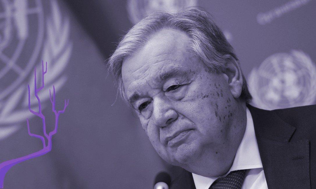 O secretário-geral da ONU, o português Antonio Guterres, pediu aos governos que incluam a proteção às mulheres em suas medidas de resposta ao coronavírus. A organização afirma que os casos de violência doméstica cresceram em todo o mundo durante a quarentena necessária para impedir que a Covid-19 de espalhe ainda mais pelo mundo Foto: ANGELA WEISS / AFP