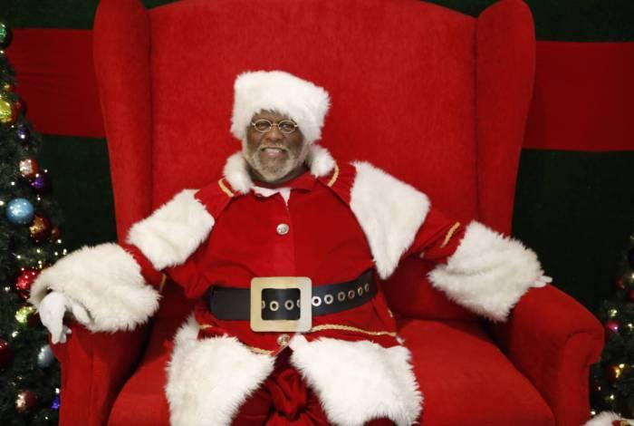 Aylton Lafayette o Papai Noel (Foto: Gilvan de Souza / Agencia O Dia)
