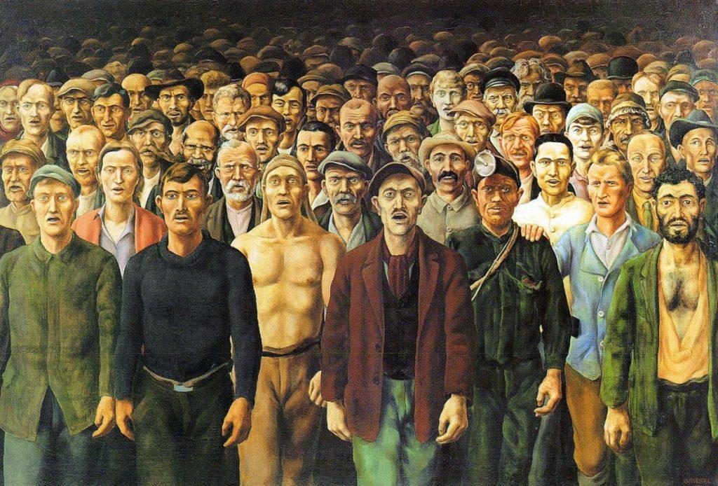 Imagem: Otto Griebel, A Internacional (1929-30)