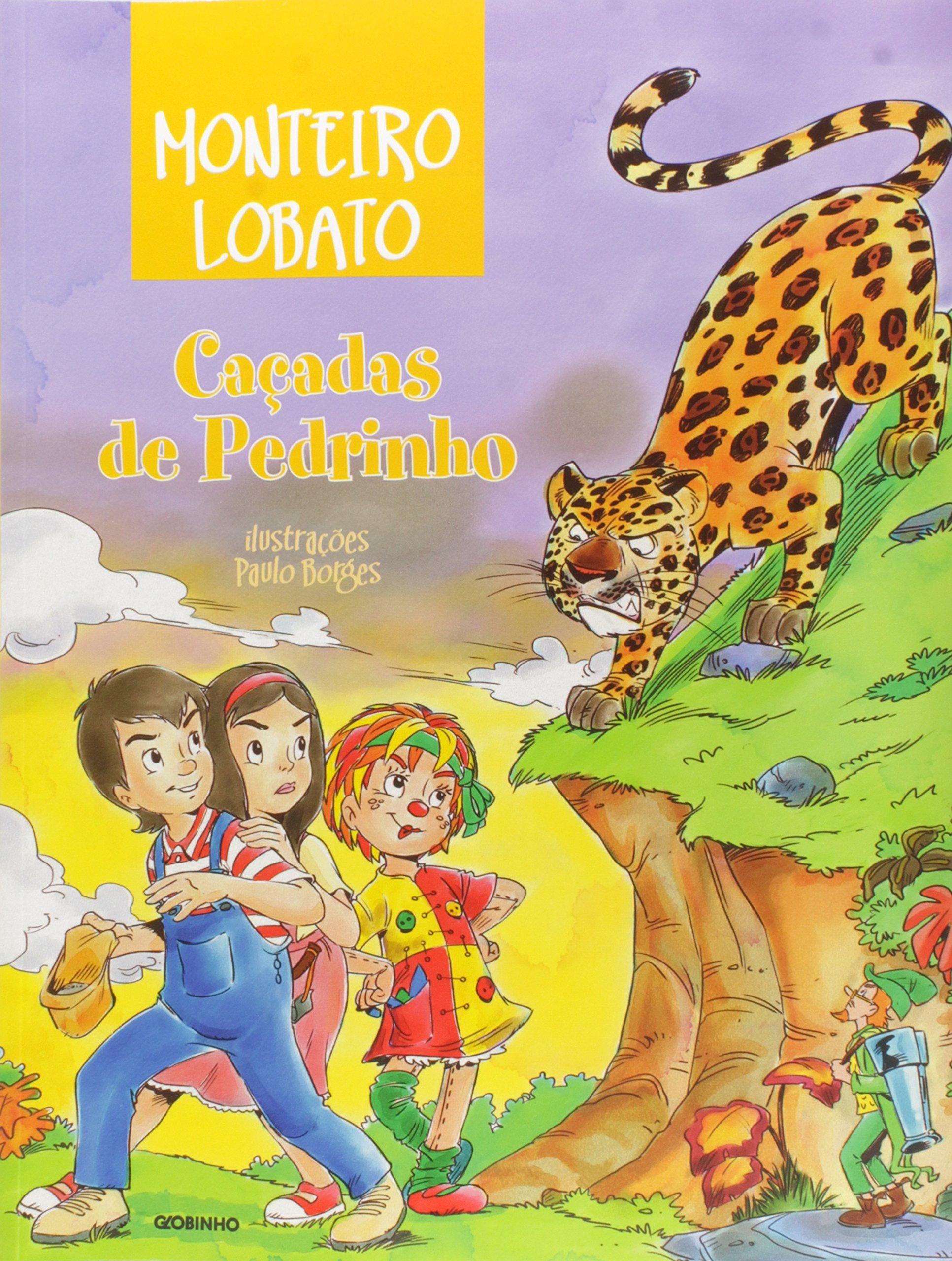 """Capa do libro """"Caçadas de Pedrinho"""""""