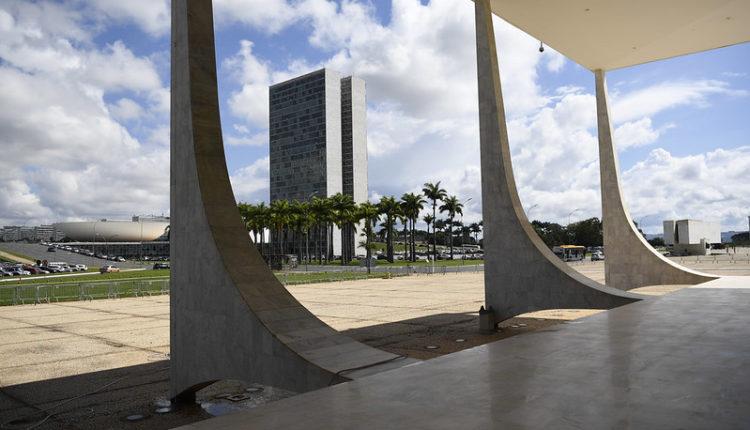 Fachada do Congresso vista pelo Supremo Tribunal Federal. (Foto: Pedro França/Agência Senado)