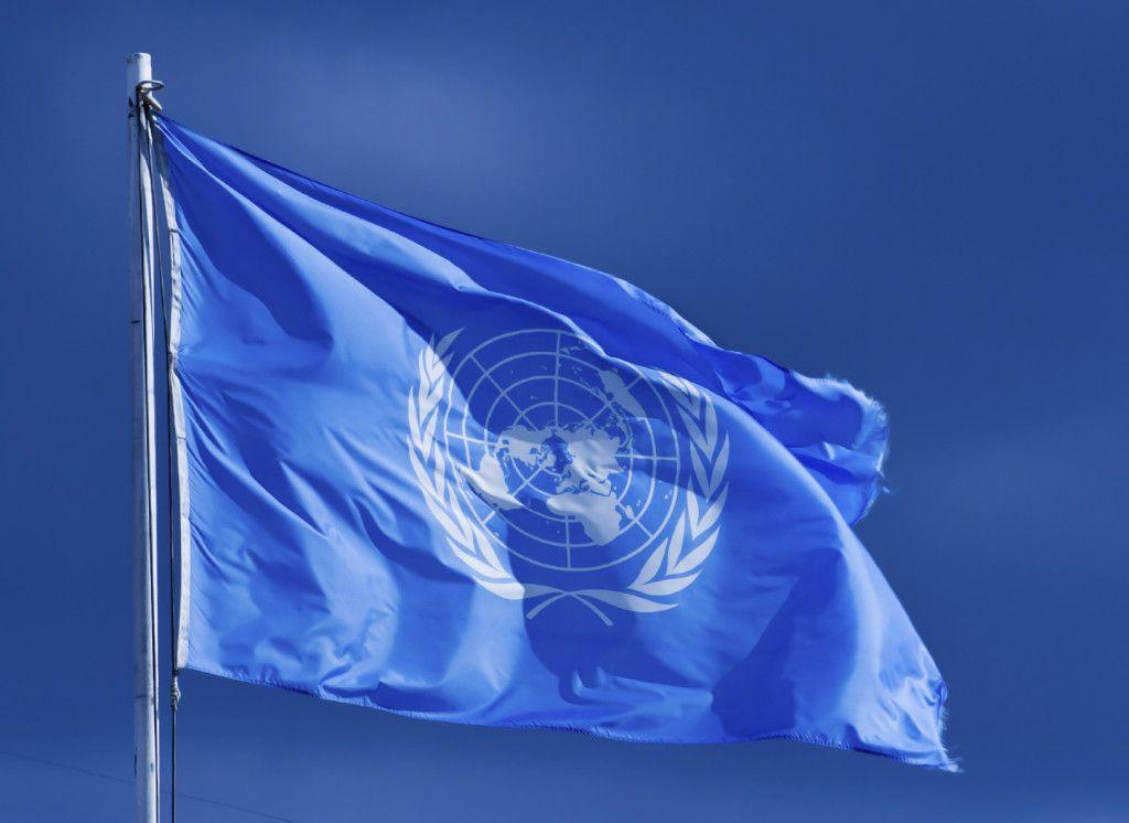 Bandeira da ONU. Foto: Getty Images