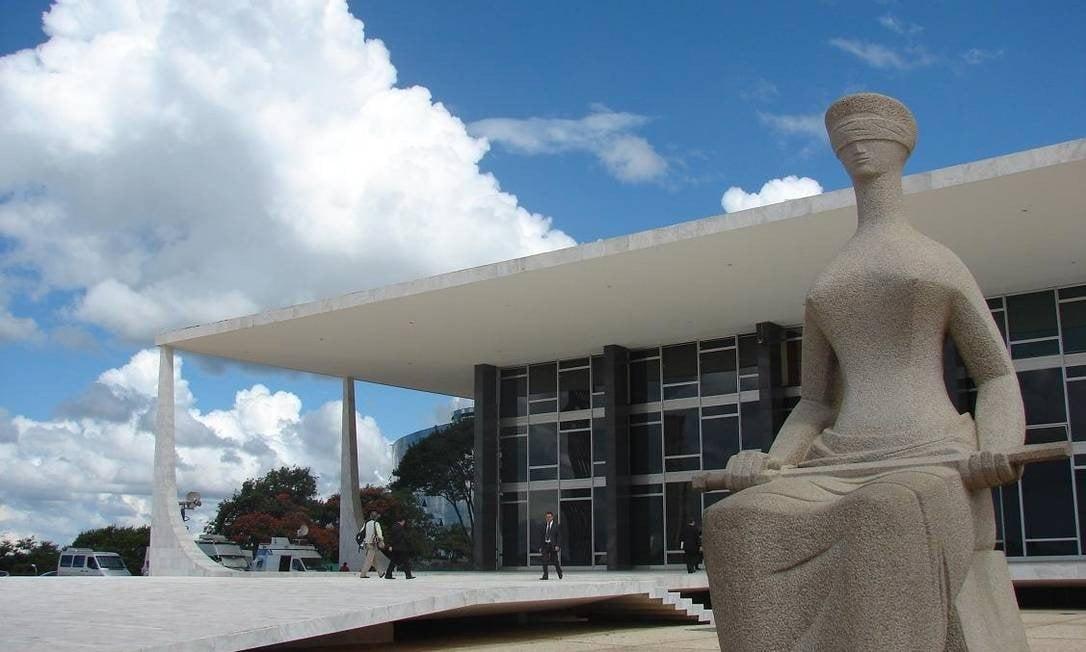 Prédio do STF, em Brasília (Foto: Divulgação / STF)