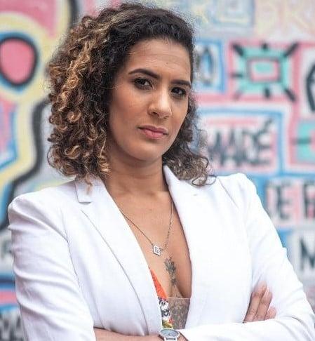 A jornalista Anielle Franco (Imagem retirada do site ECOA)