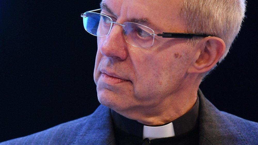 Arcebispo de Cantuária e Primaz da Comunhão Angelicana, Justin Welby (Imagem retirada do site Vatican News)