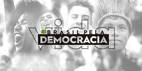 Brasil pela Democracia (Imagem retirada do site Mundo Sindical)