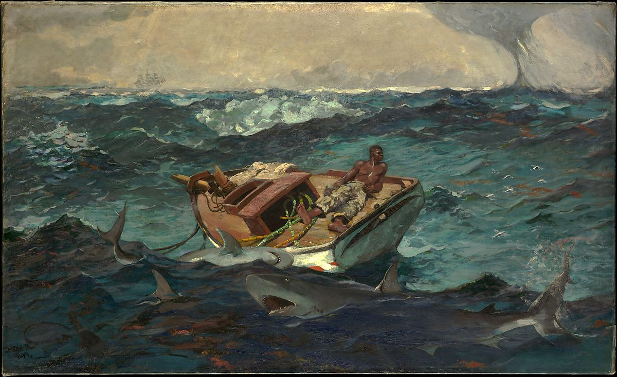 The Gulf Stream, 1899 - Winslow Homer ©The Metropolitan Museum of Art
