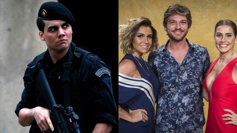 Montagem de Tropa de Elite (Foto: Reprodução) e Segundo Sol (Foto: /Instagram/João Cotta/Divulgação/Imagem retirada do site Rolling Stone)