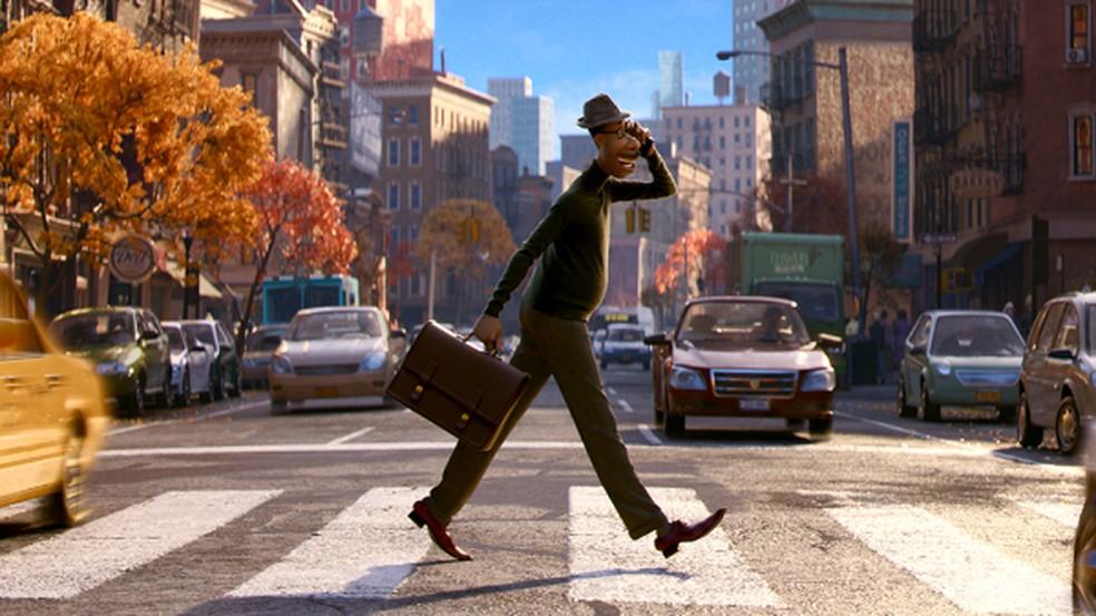 Imagem do novo filme de animação 'Soul' da Pixar — Foto: Divulgação