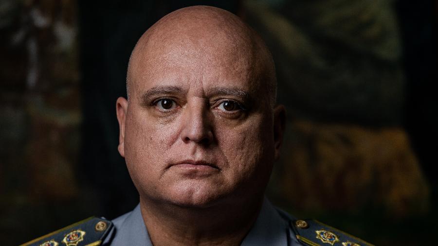 Coronel Marcelino Fernandes, ex-corregedor da Polícia Militar de São Paulo 17.mai.2018 (Foto: Eduardo Anizelli/Folhapress)