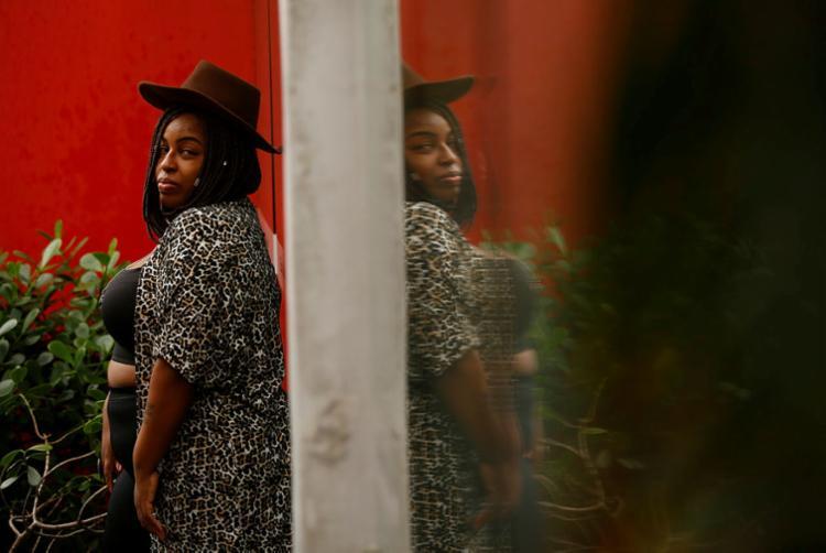 Najara Black ficou conhecida por causa da marca de roupas (Foto: Rafael Martins)