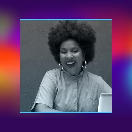 Joana Mendes é publicitária e uma das fundadoras do primeiro banco de imagens de mulheres negras do Brasil (Foto: Arte/UOL)