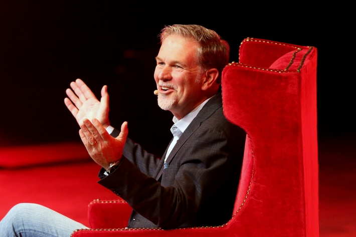 Reed Hastings, co-fundador e CEO do Netflix (Foto: dgard Garrido/Reuters)