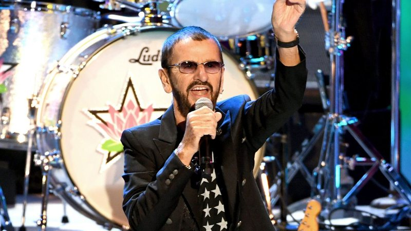 Ringo Starr (Foto: Getty Images / Kevin Winter / Equipe)