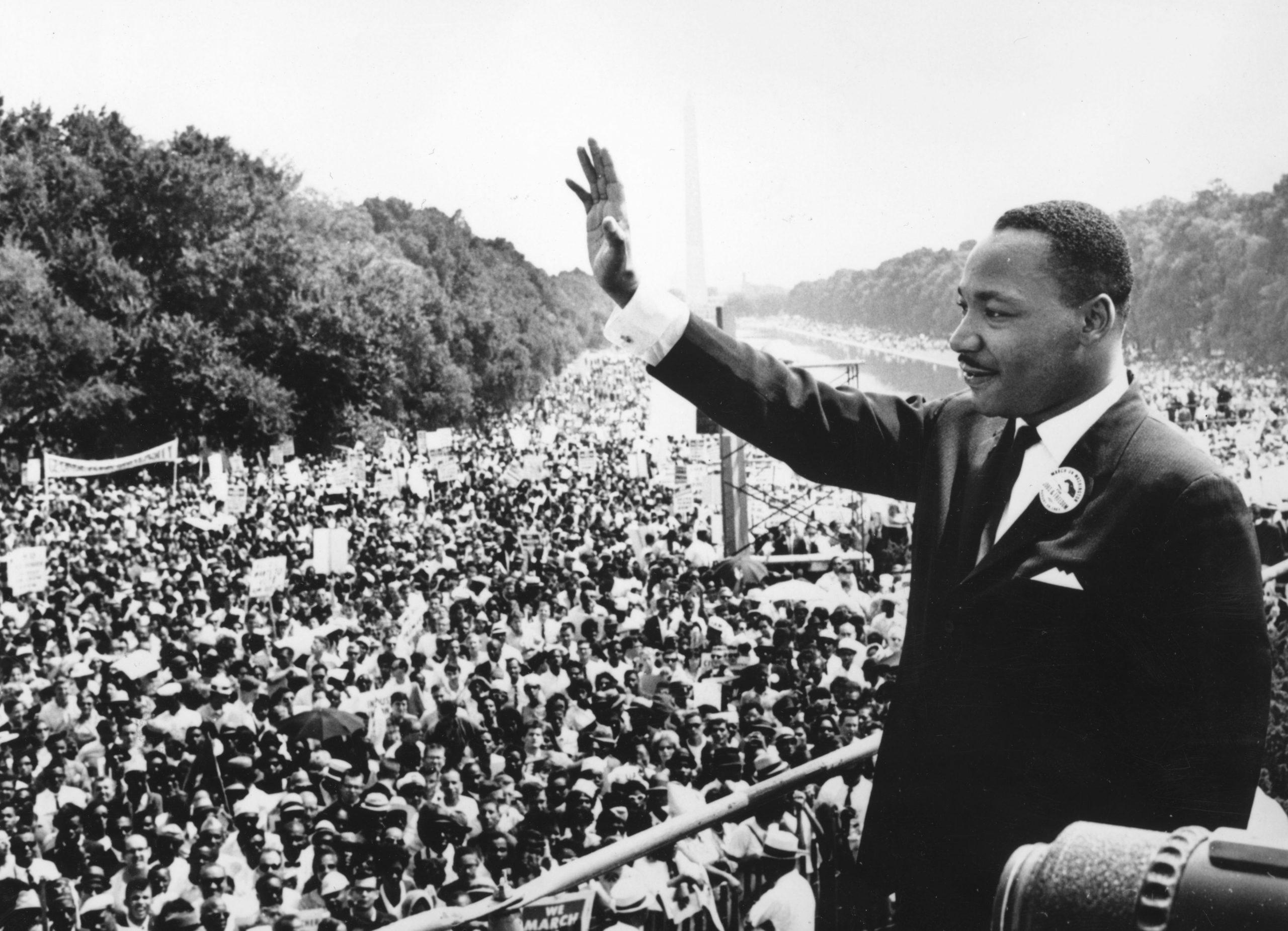 """Milhares de pessoas são aguardadas em Washington nesta sexta-feira (28) para uma manifestação antirracismo e para celebrar o aniversário do lendário discurso do líder Martin Luther King, """"I have a dream"""", de 1963. AFP/Archives"""