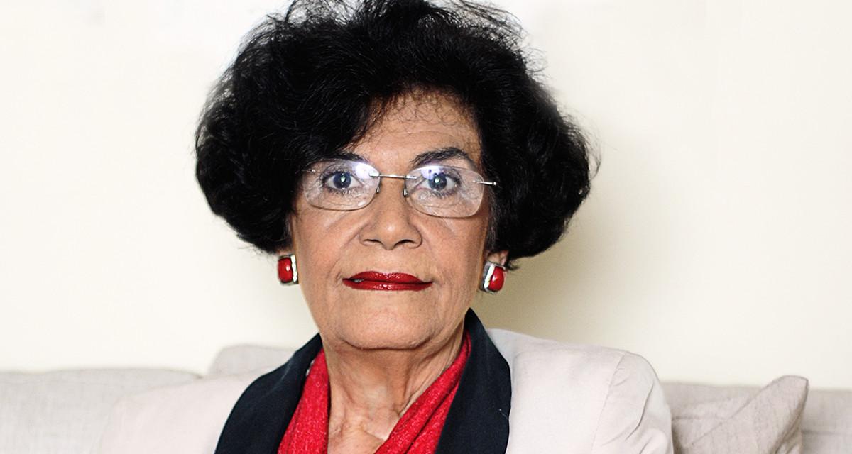 A filósofa Marilena Chaui: 'Há uma inversão ideológica fantástica no Brasil: a violência é vista como ordem (Foto: Bob Sousa/CUT)